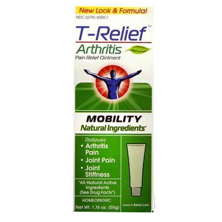 MediNatura T-Relief Homeopathic Arthritis Pain Relief Ointment -- 2 oz Ointment - Halloween T Pain