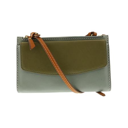 Fossil Women's Sage Mini Bag Leather Cross Body - Blue / - Leather Lined Mini Bag