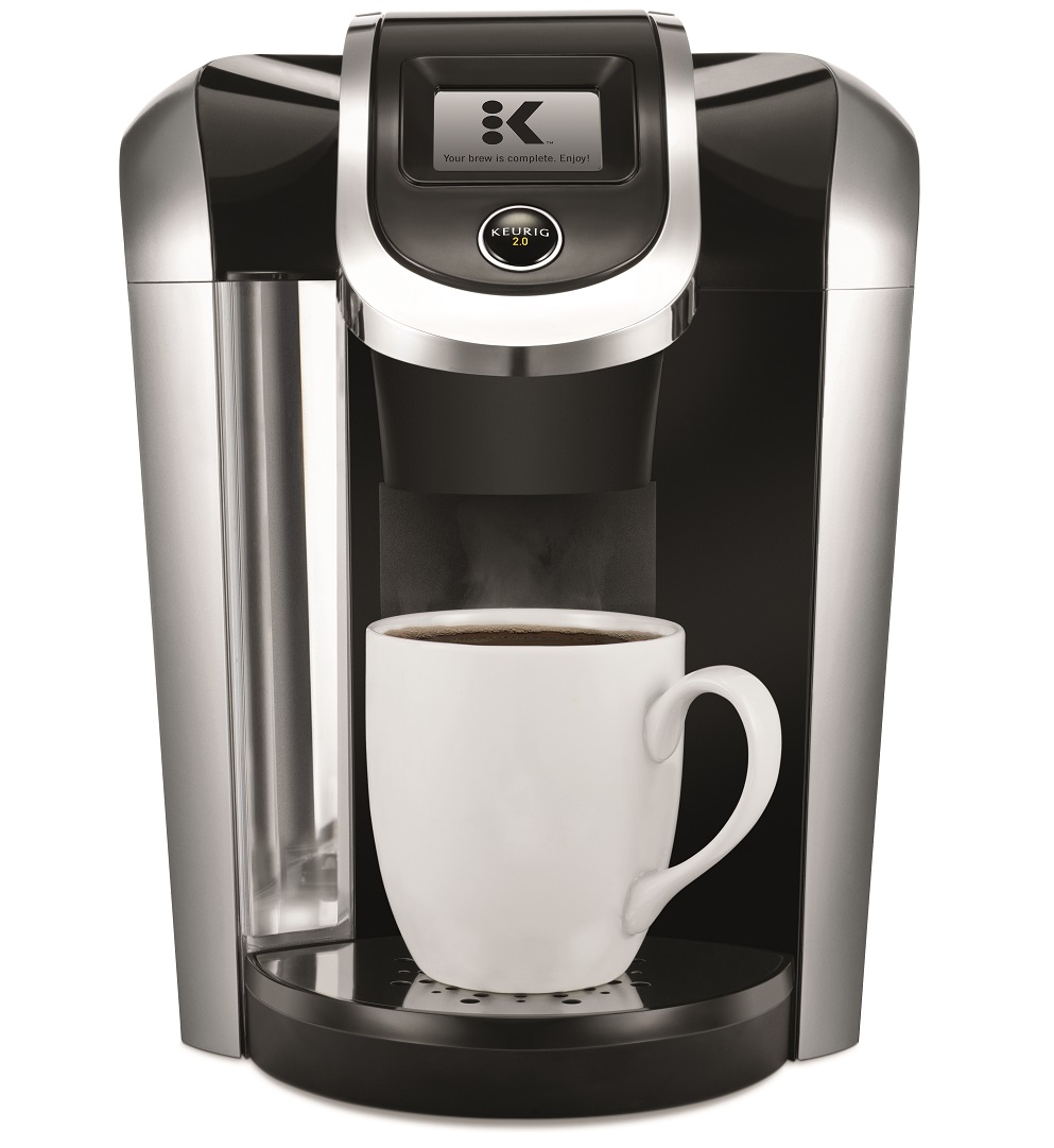 Keurig K425 Single Serve K-Cup Pod Coffee Maker with 12oz Brew Size, Strength Control, and temperature control, Programmable, Black