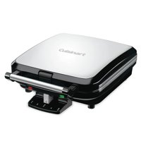Cuisinart 4 Slice Non Stick Belgian Style Waffle Maker (Certified Refurbished)