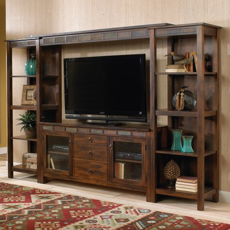 Santa Fe 60″ TV Console Entertainment Wall