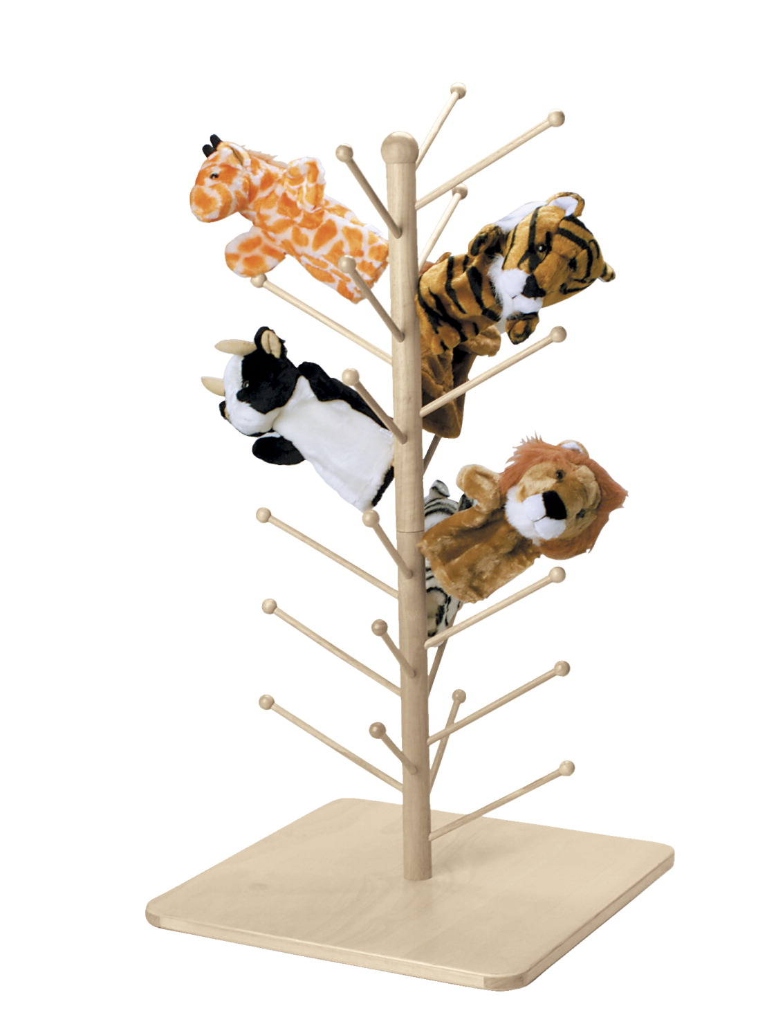 Marvel Education Wooden Puppet Tree by