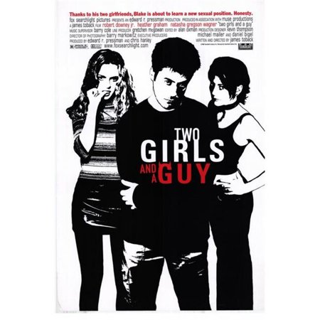 Posterazzi MOVAH0635 Two Girls & a Guy Movie Poster - 27 x 40 in.](Two Guys And A Girl Psycho Halloween)