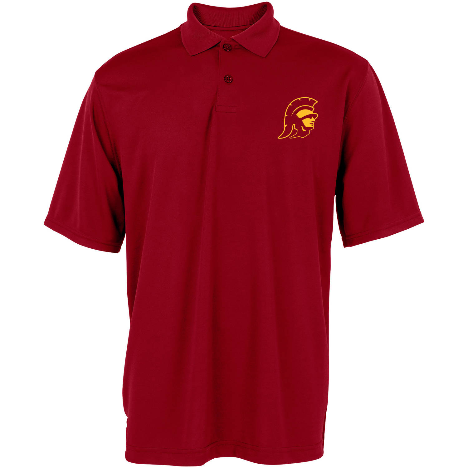 NCAA USC Trojans Big Men's Performance Polo, 2XL