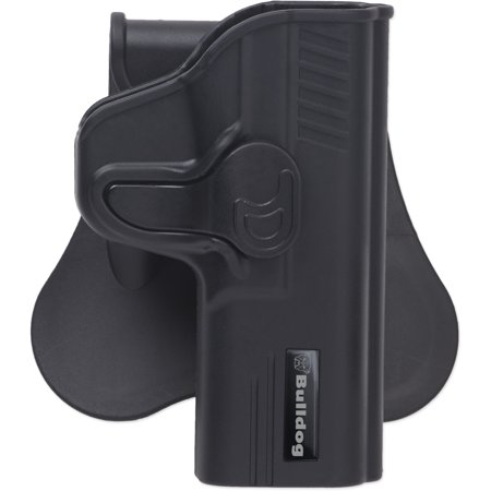 Bulldog Cases Rapid Release Holster w/ Paddle Fits Beretta & Taurus (Beretta 92 9mm)