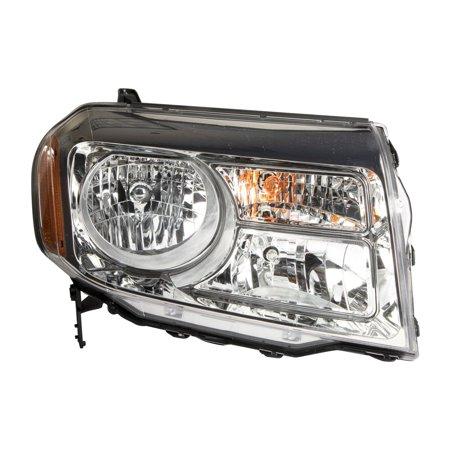 TYC 20-9223-00-1 Right Headlight Assembly for 2012-2014 Honda Pilot HO2503147 ()