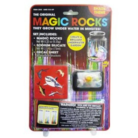 The Original Magic Rocks Crystal Growing Kit: Shark - NEW - FREE SHIPPING! - Crystal Rock Office