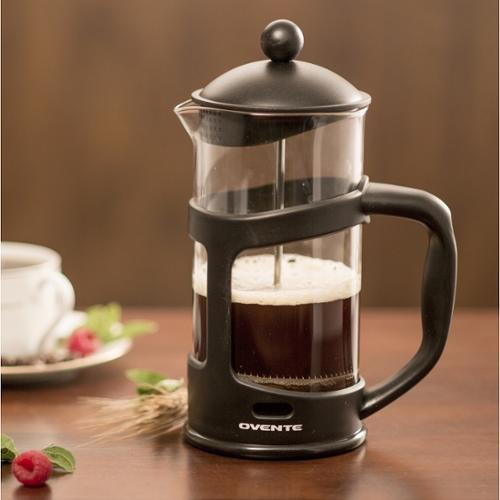 Ovente 12 oz. Black French Press Coffee Maker