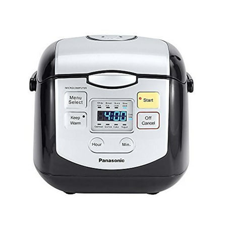 Panasonic 4c Mircocomputer Rice Cooker Black