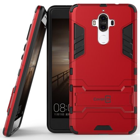 CoverON Huawei Mate 9 Case, Shadow Armor Series Hybrid Kickstand Phone Cover](huawei mate 9 us)