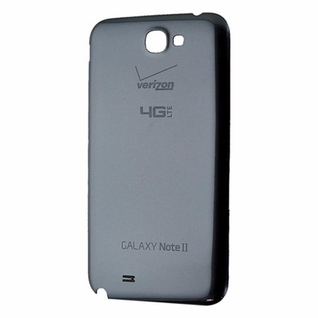 OEM Replacement Back Cover Battery Door for Verizon Galaxy Note II-Titanium (Refurbished) ()