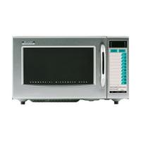 Sharp R-21LTF Stainless Steel 1000 Watt Commercial Microwave