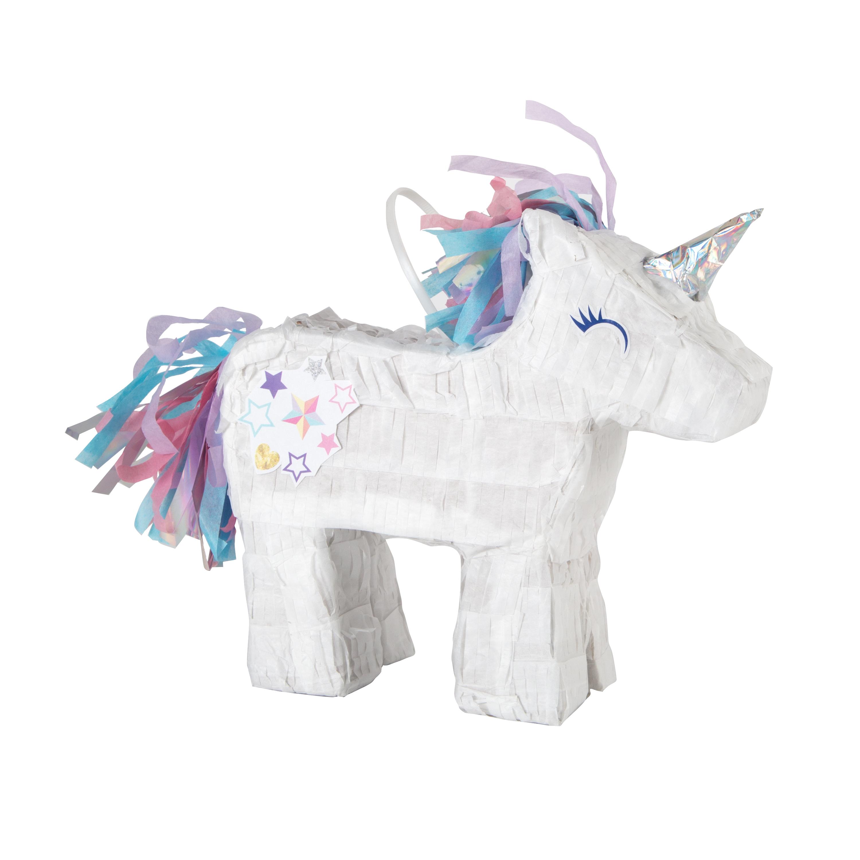Mini Unicorn Pinata Favor Decoration, 7 x 6.5in
