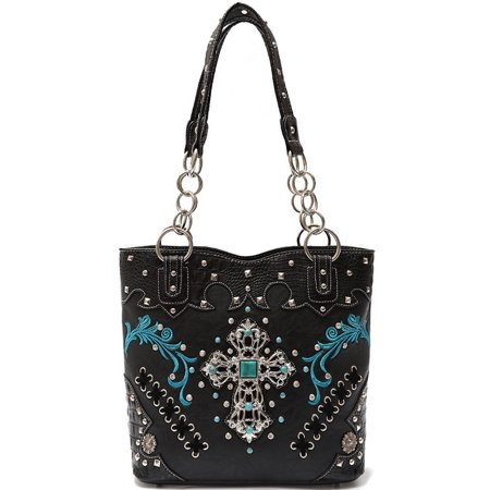 Blancho Bedding Womens Athena HB-S 1 PU Leather Handbag Fashion Elegant Tote  Bag Black - Walmart.com 4b7e9b3e993fe