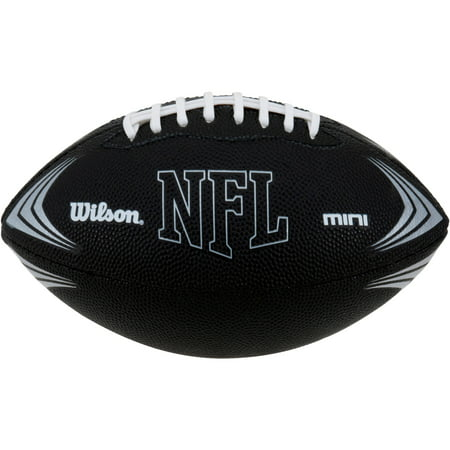 Wilson Sporting Goods NFL Mini Rubber Youth - Green Collegiate Football