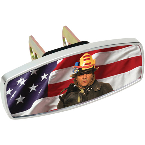 HitchMate Premier Series HitchCap, Flag and Fireman