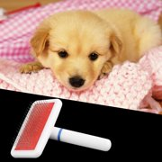 Pet Puppy Dog Cat Hair Grooming Trimmer Flea Comb Gilling Brush Slicker Tool