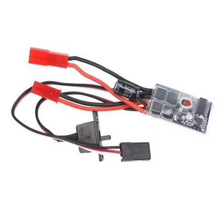 RC ESC 10A Brushed Motor Speed Controller No Brake for Car Part Boat Tank Toy