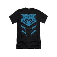 Justice League Of America DC Comics Blue Beetle Armor Costume Adult Slim T-Shirt