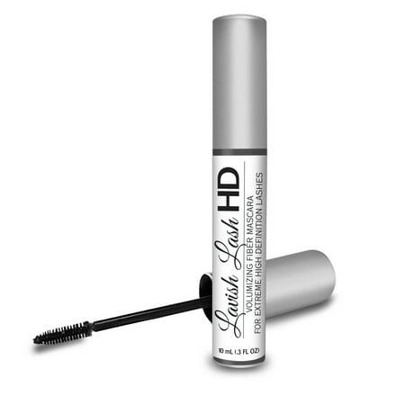 Lavish Lash HD by Hairgenics -Ultra-Premium Volumizing Fiber Mascara for Extreme High Definition Lashes. Smashbox High Definition Healthy