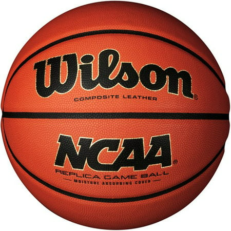 Wilson Ncaa Logo Basketball (Wilson NCAA Replica Game Basketball, Official Size)