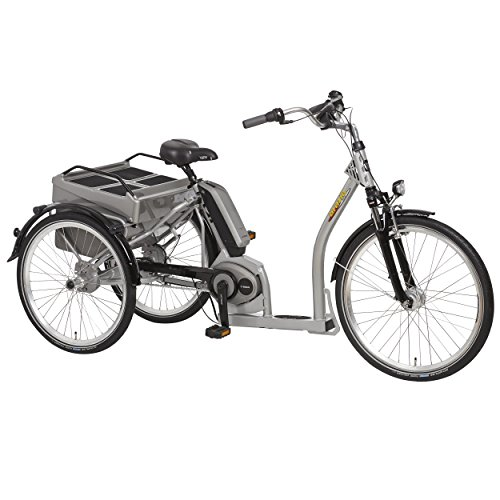 PFIFF Grazia Electric Tricycle, 24 and 26 inch wheels, Unisex, Silver