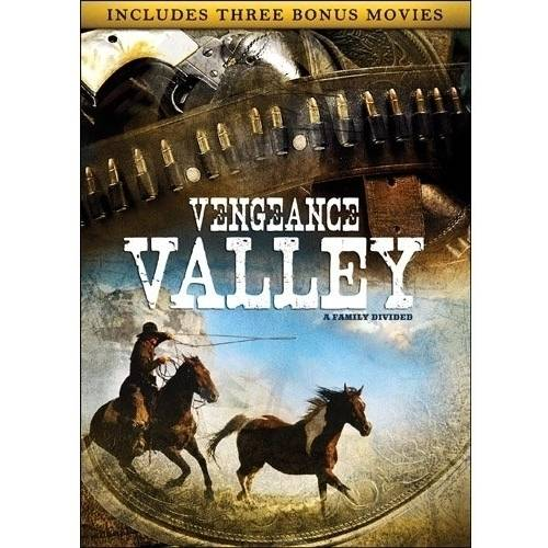 The Great American Western: Vengeance Valley / Kansas Pacific / Santa Fe Trail / The Outlaw (Full Frame)