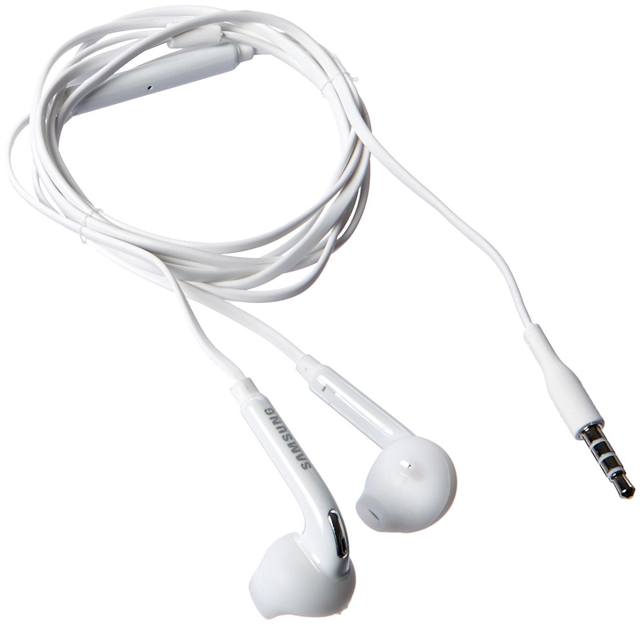 Samsung OEM Original Genuine Wired Headset for Samsung Galaxy S6/S6 Edge - Non-Retail Packaging - White