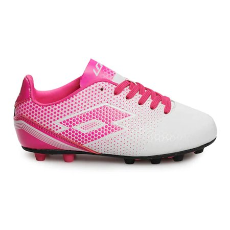 Lotto Spectrum Fg White/Pink Soccer Shoes ( 4915GPHWH (Lotto Soccer Boots)