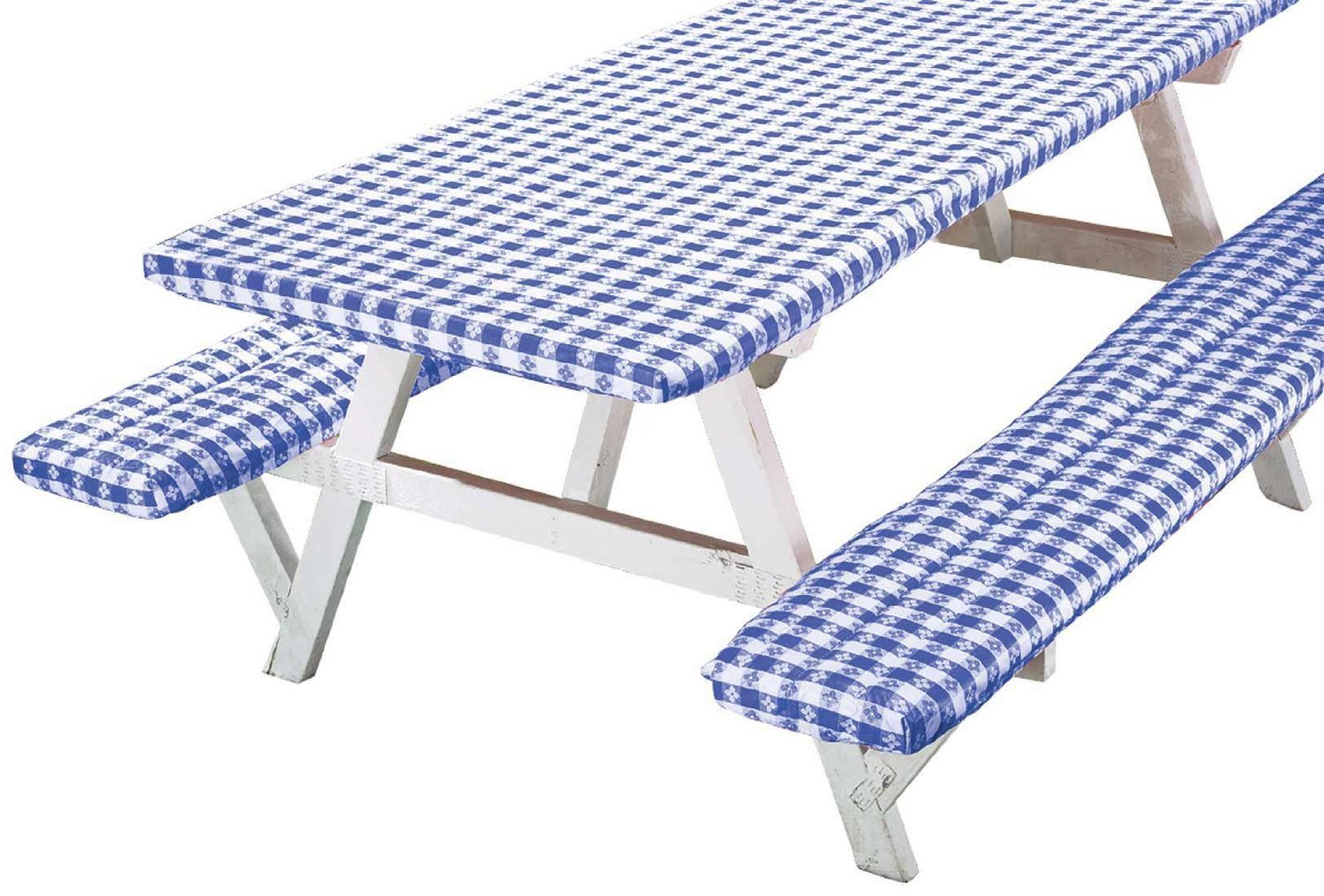 Deluxe Picnic Table Cover Set Of Walmartcom - Outdoor picnic table covers
