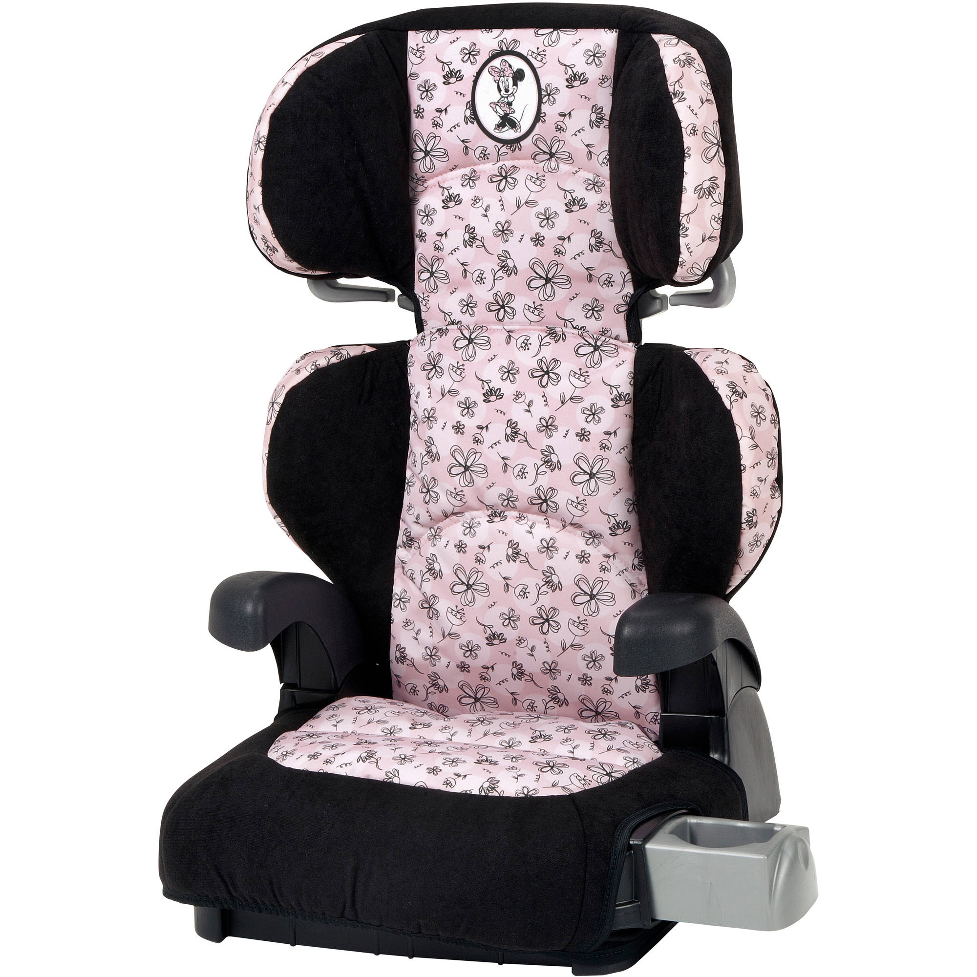 Disney Pronto Booster Car Seat, Minnie Flower