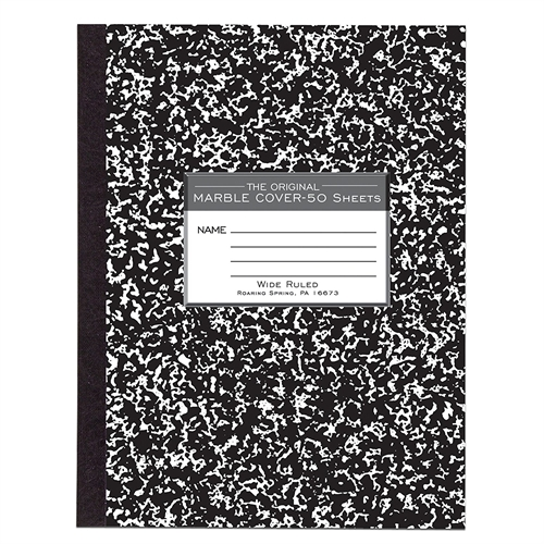 Roaring Spring Wide-Ruled 50-Sheet Composition Book 77910