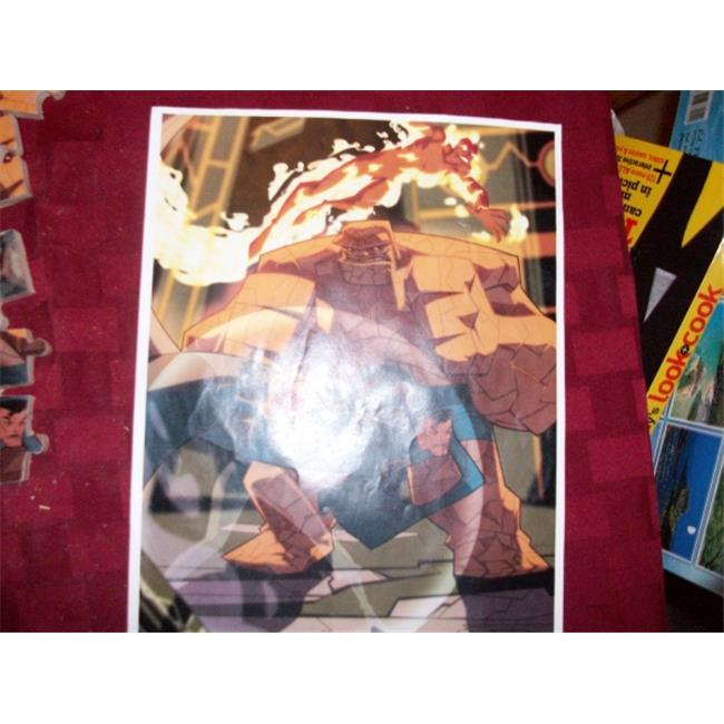 Fine Crafts 210ANI Fantastic four wooden jigsaw puzzle