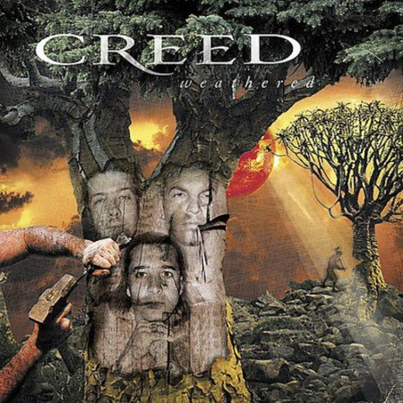 Creed  Weathered CD Rare Vintage Ships N 24h