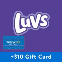 Buy 2, Get $10 Gift Card: Luvs Ultraguards Diapers (Choose Your Size)