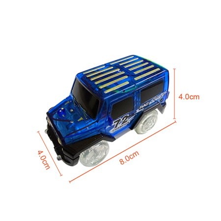 1Pcs Cars For Magic Tracks Glow in the Dark Amazing Racetrack Light Up Race (Not Include Tracks) - image 2 of 6
