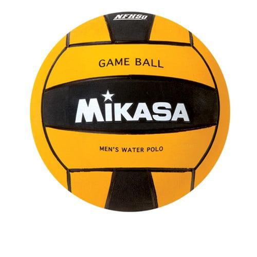 Water Polo Ball by Mikasa Sports, Size 5 Men Yellow Black Premier Series by