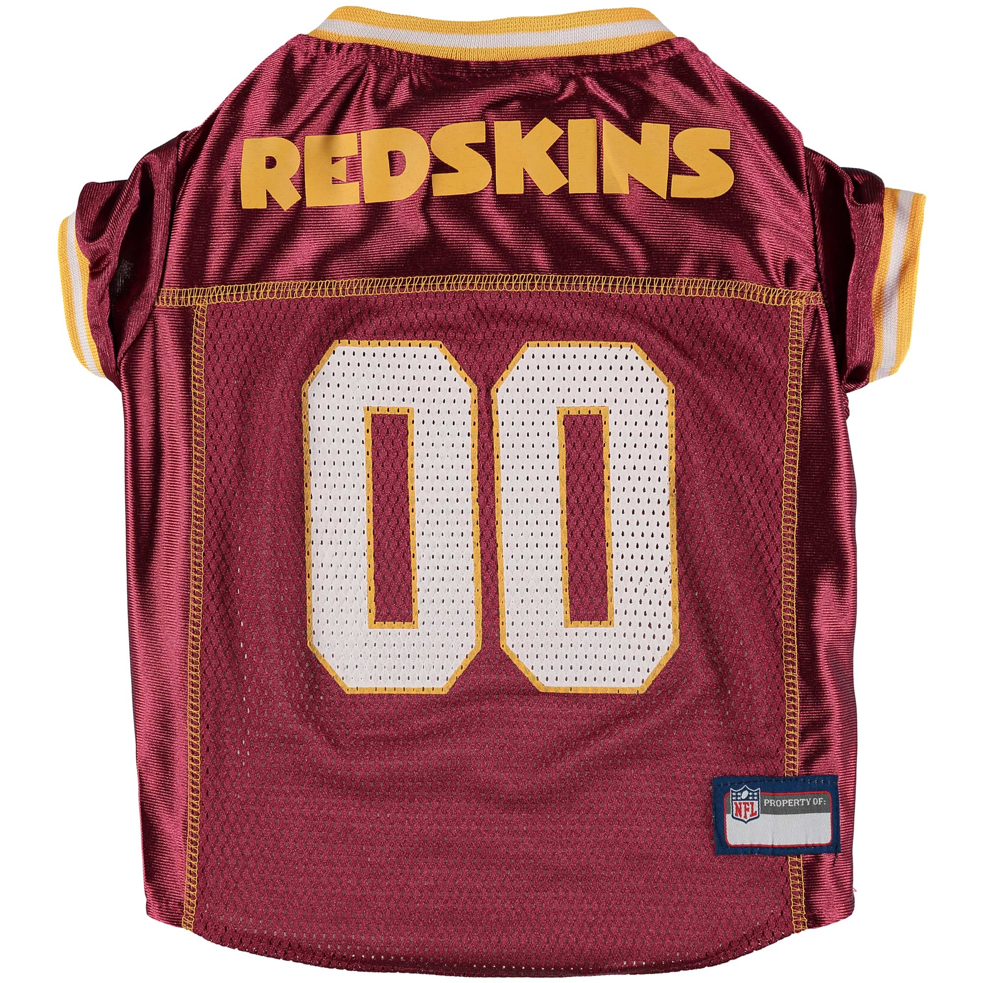 Washington Redskins Mesh Dog Jersey