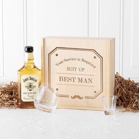 Best Man Spirit Gift Box SET
