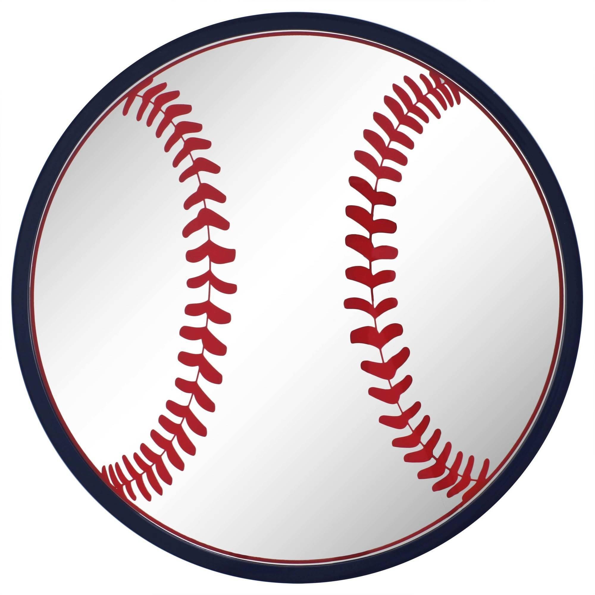 "Better Homes and Gardens 16"" (40.64 cm) Baseball Mirror"