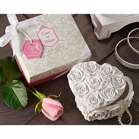 - Love in Bloom Heart Jewelry & Trinket Box