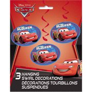 "36"" Hanging Disney Cars Decorations, 3ct"