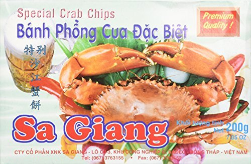 Giant Crab Flavored Shrimp Chips by