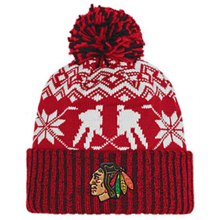 Adidas Knit Hat (Adidas Men's NHL Chicago Blackhawks Stocking Knit Hat Beanie Winter Red)