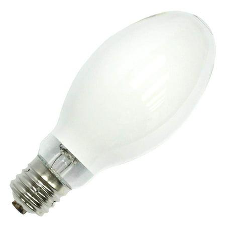 400W ED28 - Metal Halide, White Coated - 3800K, ANSI M59/E - Mogul Base - MH400/ED28/C/U/4K - Plusrite (400 Watt Mogul Bulb)