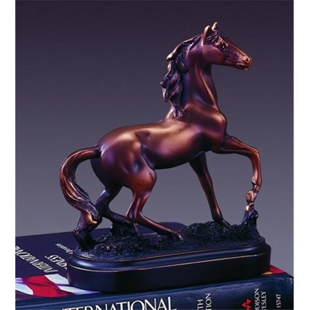 Marian Imports F13008 Horse Bronze Plated Resin Sculpture ()