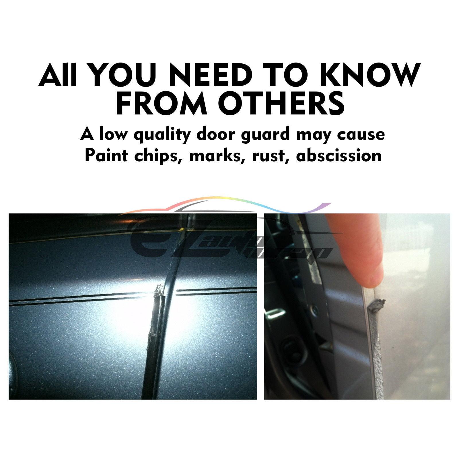 Chrome Silver 12ft 370cm Car Door Edge Guard Moulding Trim DIY Protector Strip