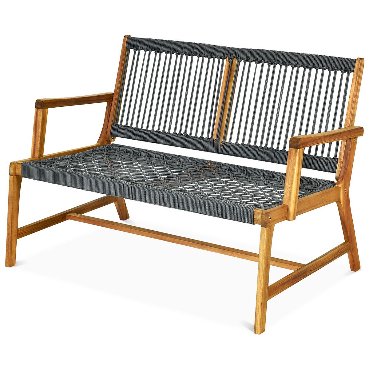 Garden Gear 3 Seater Acacia Outdoor Patio Bench Wooden Furniture Park Seat NEW