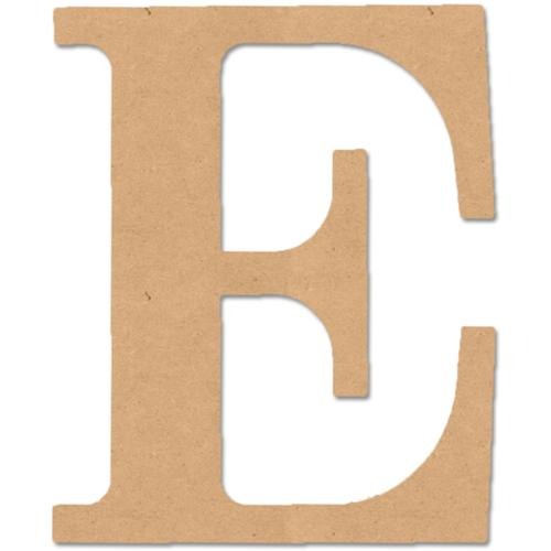 "MDF Classic Font Wood Letters & Numbers 9.5""-Letter E"