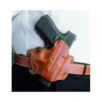 DeSantis Mini Slide Holster - Right, Tan  - S&W M&P FULL-SIZE AND COMPA